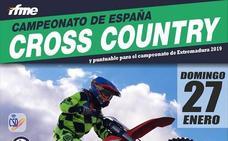 Malpartida celebra el Campeonato de Cross-Country el 27 de enero