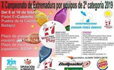 El equipo femenino de Pádel Los Barruecos luchará por el ascenso en Puebla de la Calzada