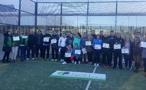 El Espíritu Solidario del Pádel vuelve a ponerse de manifiesto con el Torneo Benéfico de Pádel Malpartida