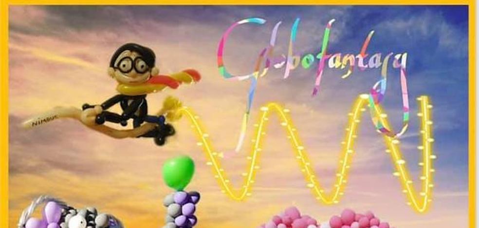 Esta tarde se inaugura 'Globofantasy' en la Casa de Cultura