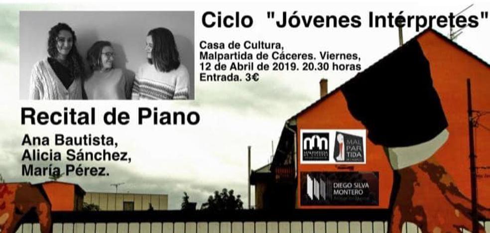 La Casa de Cultura acoge un recital de piano el próximo viernes