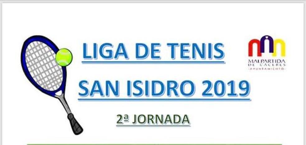 Segunda jornada de la I Liga de Tenis San Isidro