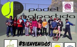 La asociación Pádel Malpartida y la nueva escuela de Pádel Adaptado