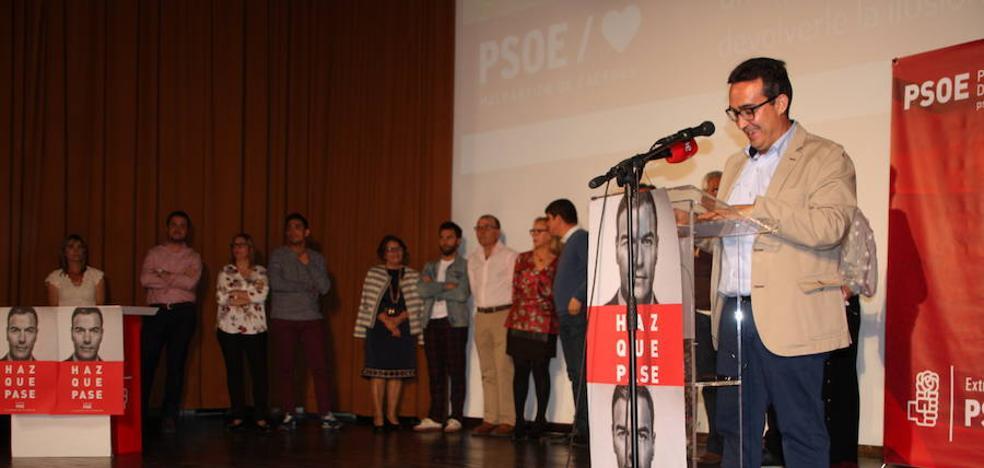 Antonio Jiménez presenta su candidatura a la alcaldía de Malpartida de Cáceres