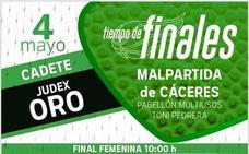 El Toni Pedrera acoge mañana las finales de Judex Oro Cadete