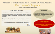 El próximo sábado, los amantes del queso tienen una cita en Malpartida de Cáceres