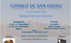 Mañana comienza el torneo de pádel de San Isidro