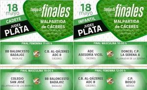 Tiempo de finales en Malpartida de Cáceres