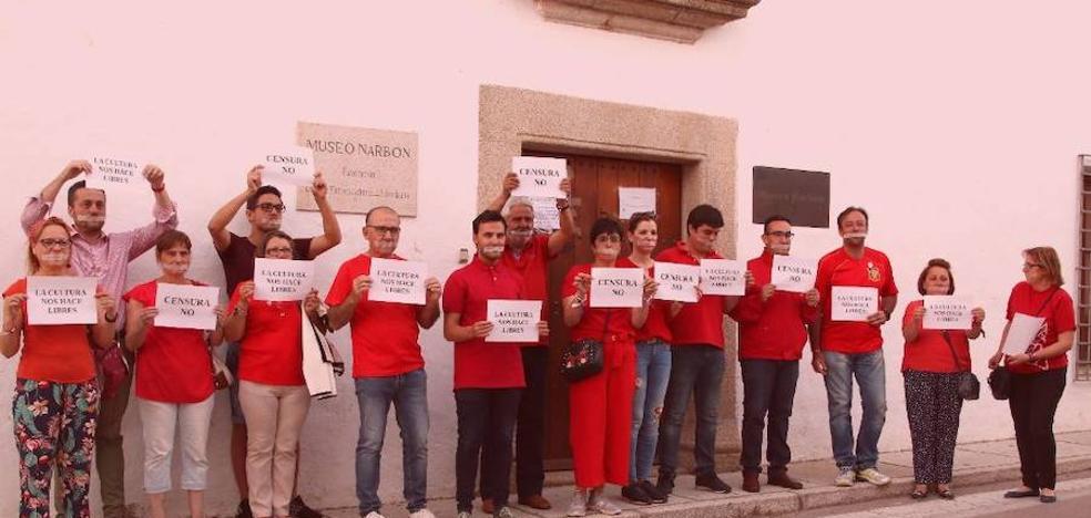 Liberbank no autorizó el acto en el Museo Narbón