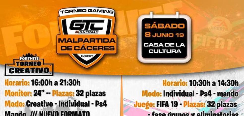 La Casa de Cultura de Malpartida de Cáceres acoge un nuevo torneo gaming