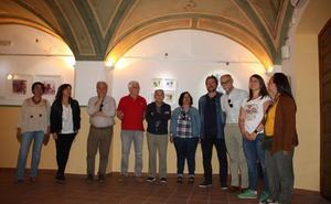 La Agrupación de Acuarelistas Extremeños expone en Casa Bernabé