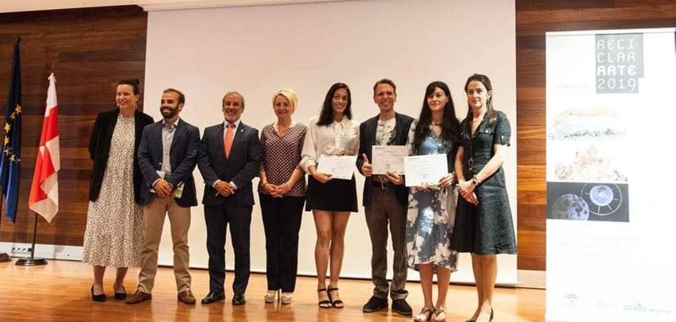 Patricia Gómez, tercer premio en el VII Certamen Reciclar Arte