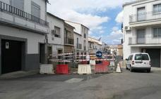 El próximo lunes comienzan las obras de ampliación del colector general y de pavimentación de la Plaza Mayor