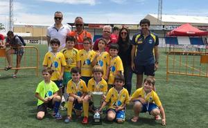 Malpartida de Cáceres ganó en la categoría prebenjamín del Torneo Fútbol Base de Arroyo de la Luz