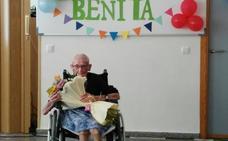 La residencia Santa Ana festeja los 102 años de Benita Agúndez Custodio