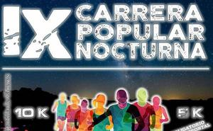 Malpartida acoge la IX Carrera Popular Nocturna el 9 de agosto