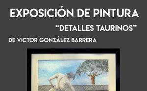 Víctor González inaugura una exposición durante la I Noche del Emprendimiento