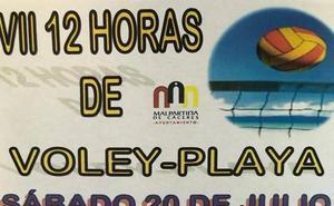 La piscina de Malpartida de Cáceres acoge la VII edición de las 12 Horas de Voley-Playa