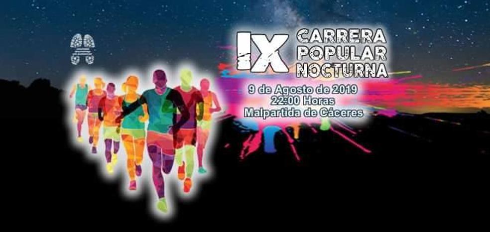 El Club Atletismo Malpartida Los Barruecos amplía dorsales y plazo de inscripción para la Carrera Popular Nocturna