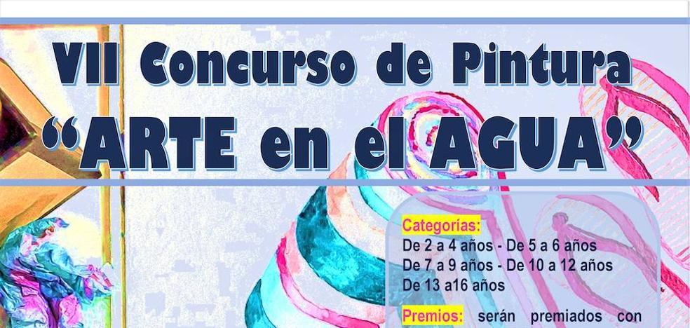 Aplazado el VII Concurso de Pintura 'Arte en el Agua' al próximo miércoles