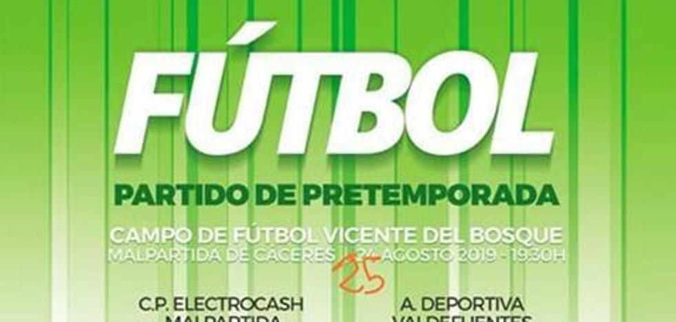 El C.P. Malpartida Electrocash recibirá mañana al A. Deportiva Valdefuentes para el último amistoso