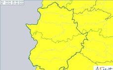 La alerta amarilla por tormentas se amplía este lunes a toda la región