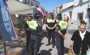 Dieciséis pueblos extremeños tienen que pedir policías prestados