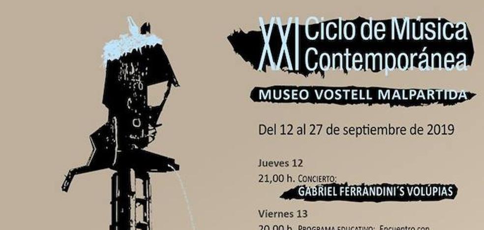 XXI edición del Ciclo de Música Contemporánea del Museo Vostell Malpartida
