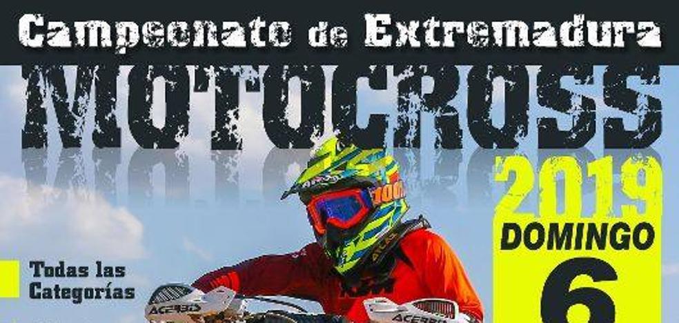 El Circuito Las Arenas acoge la primera prueba puntuable del Campeonato de Extremadura de Motocross el próximo domingo