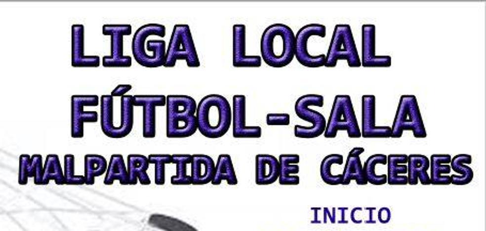 Inscripciones abiertas para la Liga Local de Fútbol-Sala de Malpartida de Cáceres