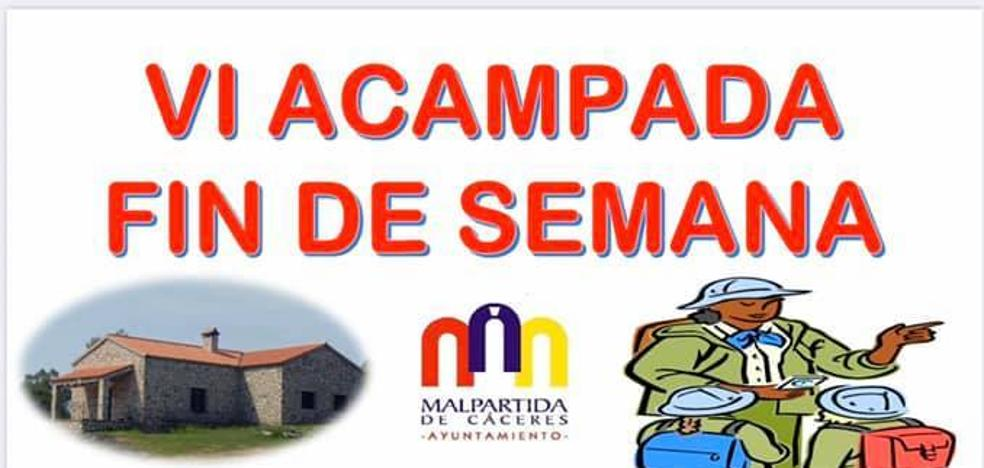 Abiertas las inscripciones para la VI Acampada de Fin de Semana en los Albergues de San Isidro