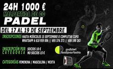 Pádel Malpartida organiza el torneo '24 horas 1.000 euros'