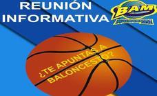 Reunión informativa para las inscripciones a baloncesto
