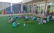 El Centro de Educación Infantil da la bienvenida al otoño