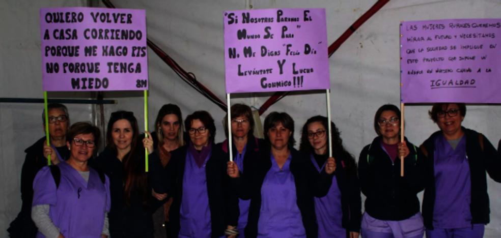 Miajadas celebra el Día de la Mujer bajo el lema 'Nosotras movemos el mundo'