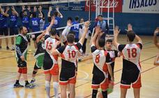 El Voleibol Laura Otero vence en Donostia y acaba segundo de la fase regular