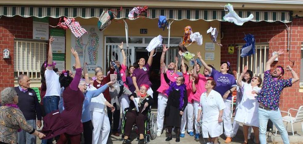 La residencia San Martín de Porres se prepara para celebrar el Día de la Diversión en el Trabajo