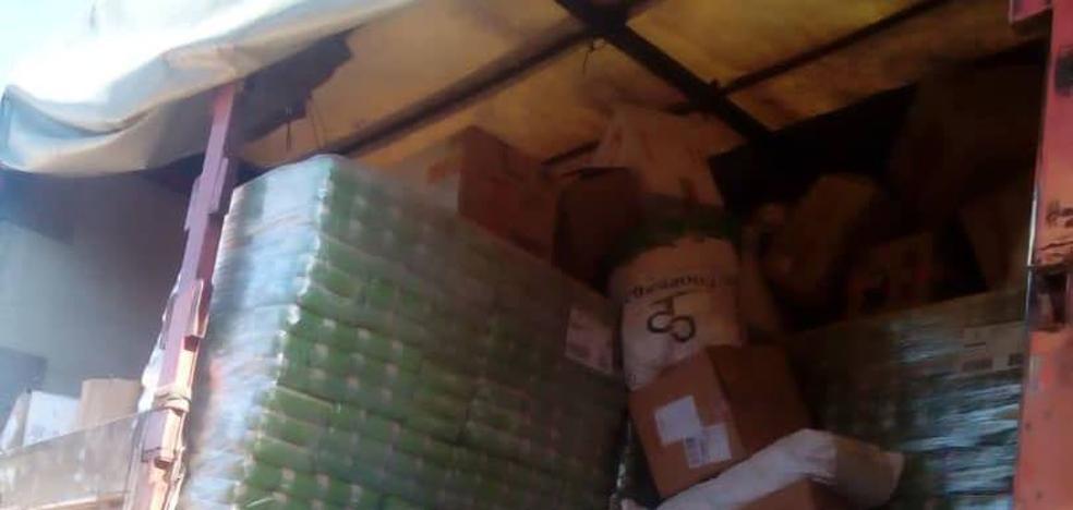 Las dos toneladas de arroz donadas por Miajadas llegan a Argelia