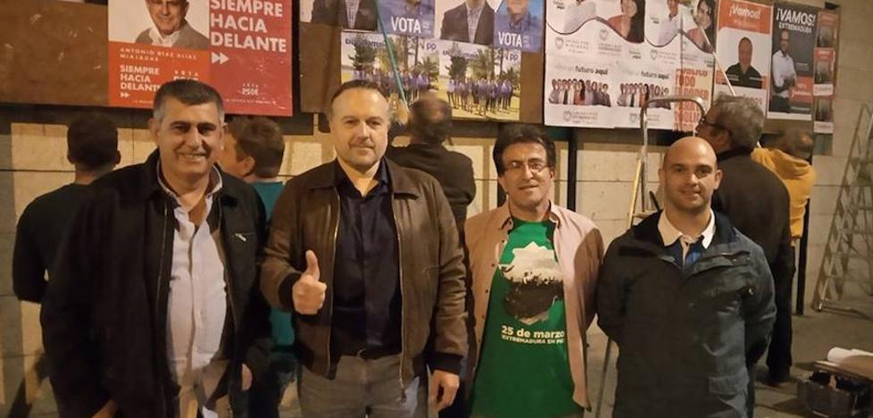 PSOE, PP, Unidas por Miajadas, Vox y Ciudadanos se disputan los 13 concejales