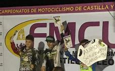 Samuel Tapia, campeón en el Supercross Nocturno de Guijuelo