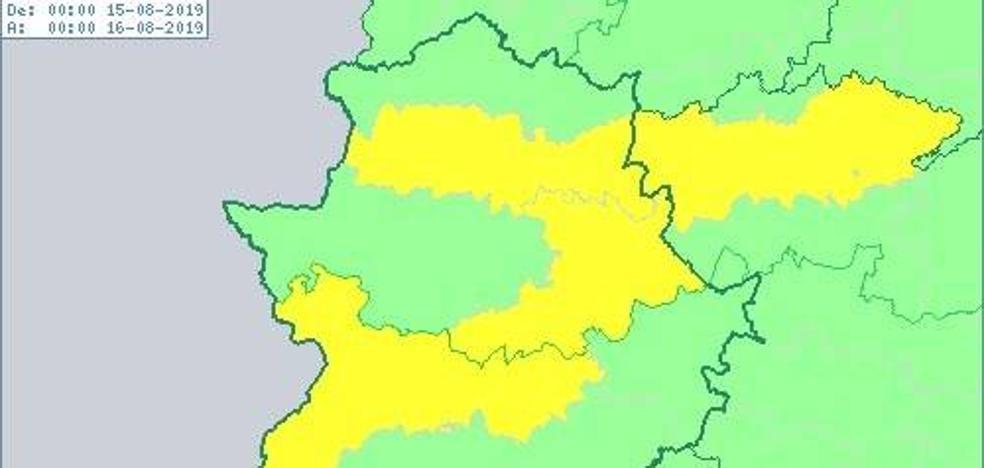 La zona de Miajadas, en alerta amarilla por altas temperaturas para este jueves