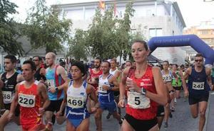 Teresa Urbina se corona con el primer puesto en la mini maratón de Miajadas