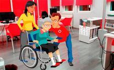 Cruz Roja, en colaboración con el Ayuntamiento de Miajadas, ofrece ayuda a personas con movilidad reducida para las Elecciones del próximo 10-N