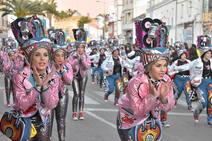 El Gran Desfile se convirtió en un mundo de fantasía donde todo tenía cabida