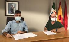El Club Deportivo Laguna Nueva firma un convenio de colaboración con el Ayuntamiento