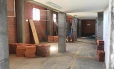 El pabellón municipal de deportes de Miajadas contará con ocho nuevos despachos y almacenes