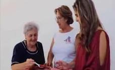 Las mujeres miajadeñas participan en el vídeo 'Mujeres dejando huella'