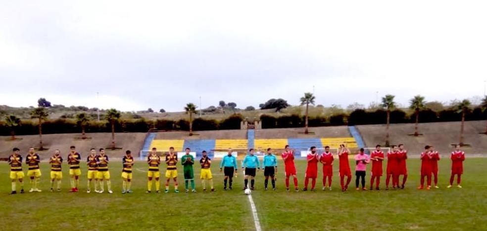 Cuarto empate de la temporada del Monesterio ante la U.D. Segureña