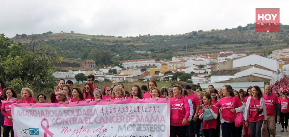 La marcha rosa contra el cáncer de mama deja más de 3.000 euros de recaudación