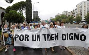 Autobús gratuito para la manifestación por un tren digno en Cáceres